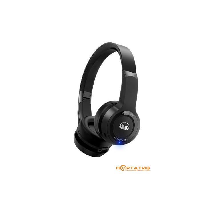 Monster Clarity HD On-Ear Bluetooth Black (MNS-137060-00)