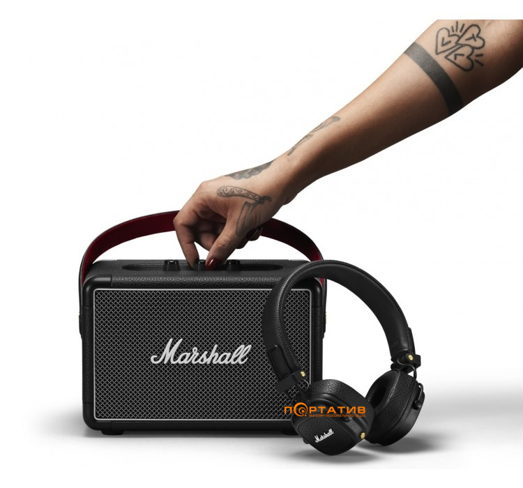 Marshall Summer Bundle (Kilburn II Black + Major III Bluetooth Black)