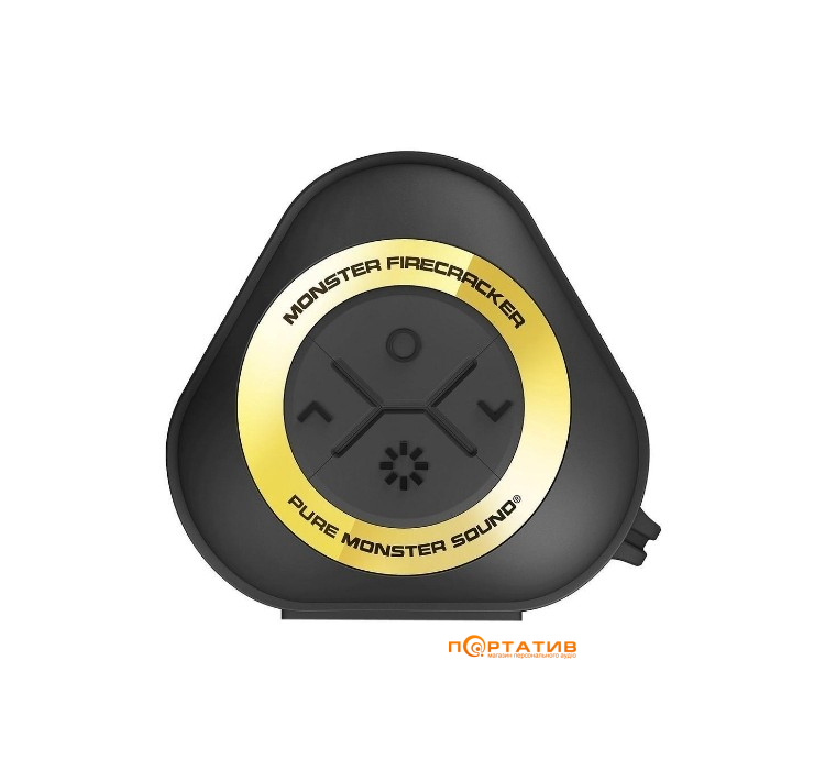 Monster Firecracker High Definition Bluetooth Speaker Black (MNS-129112-00)