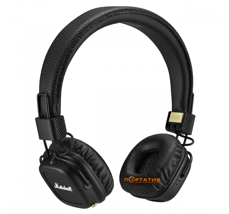 Marshall Major II Bluetooth Black - купить Наушники в Киеве 8e6cc38143c4b