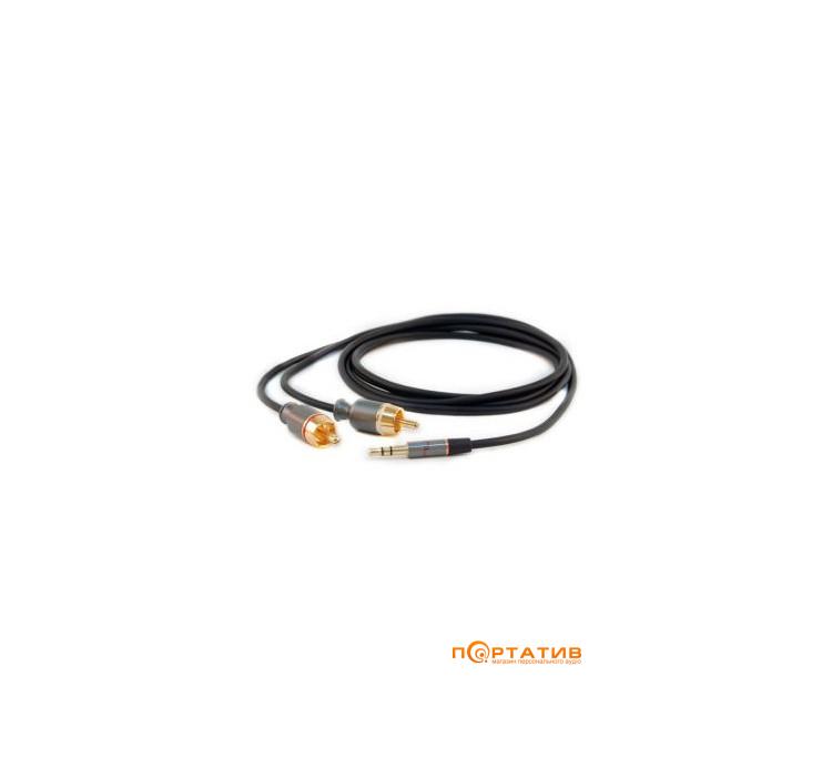 NuForce Transient PR-MM 1.5m Black