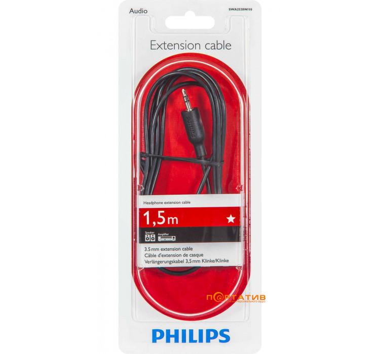 Philips 3.5mm M-3.5mm F 1.5m (SWA2528W/10)