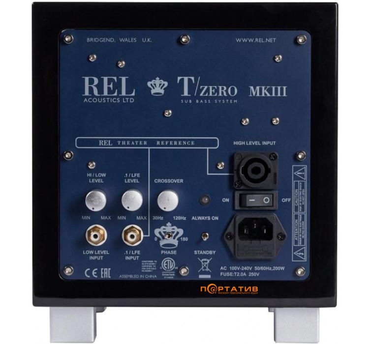 REL TZero MKIII Piano Black