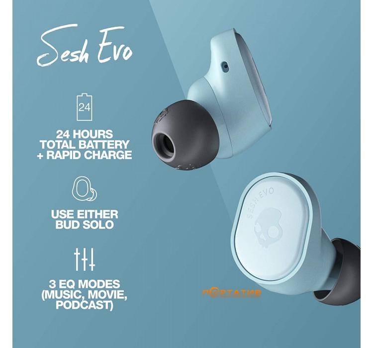 Skullcandy Sesh Evo Bleached Blue (S2TVW-N743)