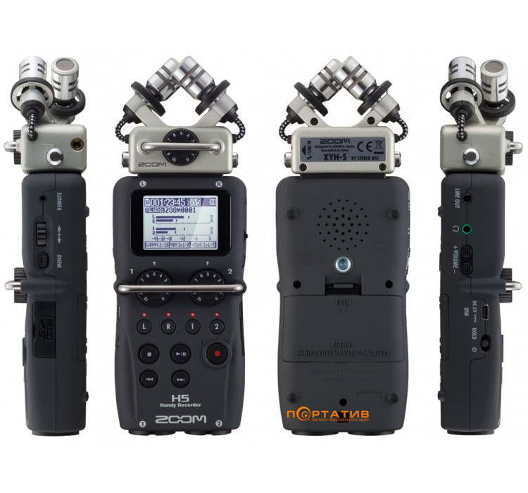 Zoom H5 + Zoom APH5