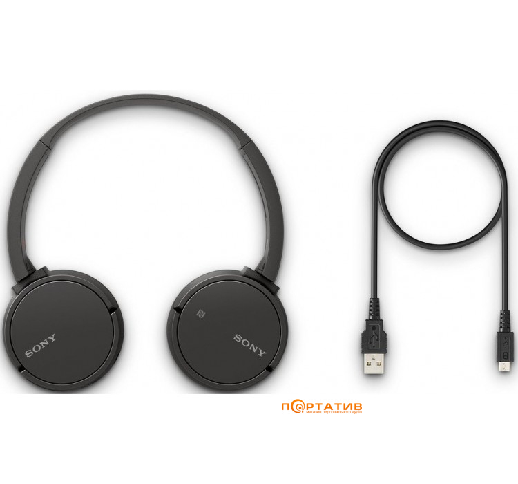 Sony WH-CH500 Black