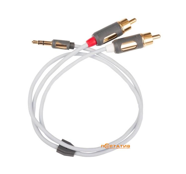Supra MP-cable 3.5mm - 2RCA 1m