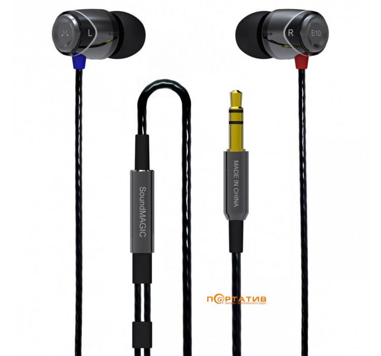SoundMAGIC E10 Black - купить Наушники в Киеве c7cd1818469b4