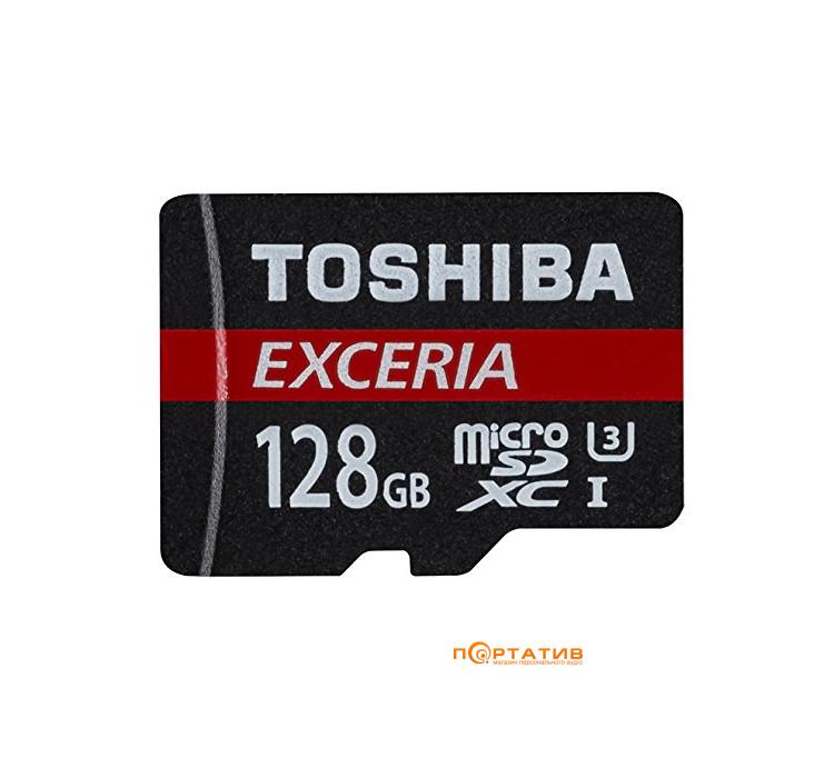 Toshiba microSDXC 128GB Cass 10 UHS-I Exceria M302 + SD Adapter (THN-M302R1280EA)