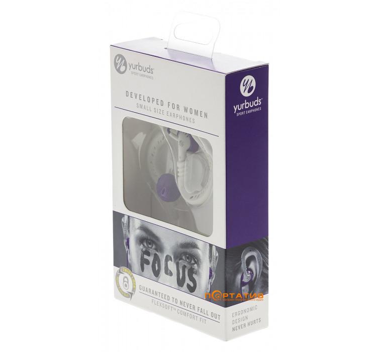 Yurbuds Focus 100 For Women Purple (повреждена упаковка)