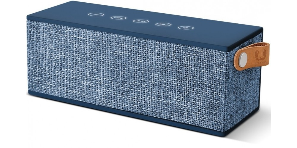 Fresh N Rebel Rockbox Brick Fabriq Edition Bluetooth Speaker Indigo