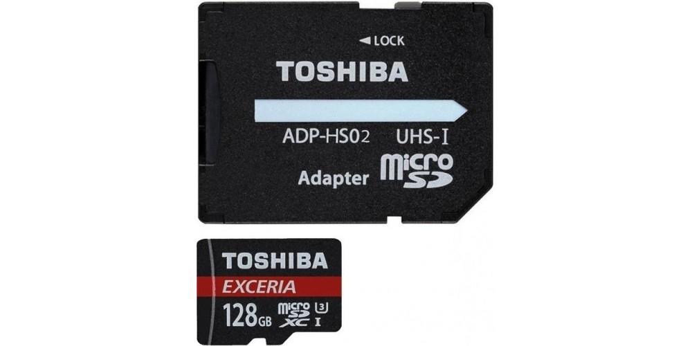 Toshiba microSD-Card 128GB M203 Exceria R90 (THNM203K1280EA)