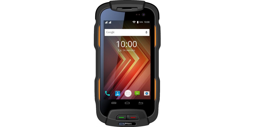 Sigma mobile X-treme PQ26 Black/Orange