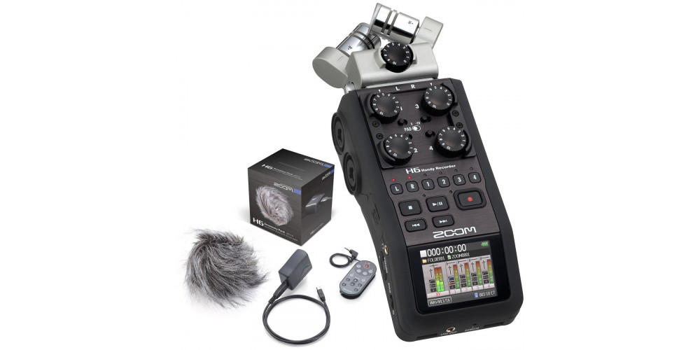 Zoom H6 + Zoom APH6