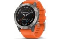 Смарт-часы Garmin Fenix 6 Titanium with Ember Orange Band (010-02158-14)