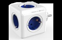 Кабели и удлинители Allocacoc PowerCube Blue, 5 розеток (1100BL/DEORPC)