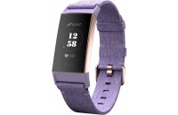 Фитнес -трекеры Fitbit Charge 3 Fitness Activity Tracker Small/Large Lavender Woven/Rose Gold Aluminum (FB410RGLV)