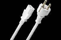 Oehlbach Powercord C13/150 White 1.5m (17043)