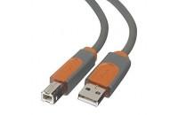 Кабели и удлинители Belkin USB 2.0 (AM/BM) DSTP, 3M,Pro Series (CU1000cp3M)
