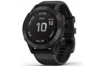 Смарт-часы Garmin Fenix 6 Black with Black Band (010-02158-02)
