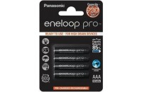 Аккумуляторы Panasonic Eneloop Pro AAA 930 mAh 4BP Ni-MH (BK-4HCDE/4BE)