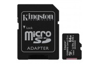 Kingston microSDXC 64GB UHS-I Canvas Select Plus + SD Adapter (SDCS2/64GB)