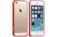 Аксессуары для мобильных телефонов Vouni iPhone 5/5S Buckle Color Match Wine Red/Champaign Gold (00000002906)