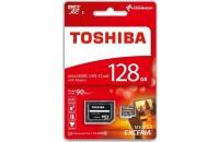 Карты памяти и кардридеры Toshiba microSD-Card 128GB M203 Exceria R90 (THNM203K1280EA)