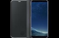 Аксессуары для мобильных телефонов Samsung Galaxy S8 (G950) Clear View Standing Cover Black (EF-ZG950CBEGRU)