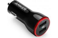 Кабели и зарядные уст-ва Anker PowerDrive 2 24W 2xUSB V3 Black (A2310G11)