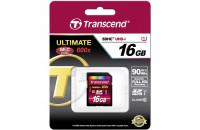 Карты памяти и кардридеры Transcend SDHC 16GB Class 10 UHS-1 (TS16GSDHC10U1)