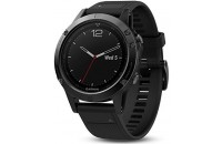 Смарт-часы Garmin Fenix 5 Sapphire Black with Black Band (010-01688-11)