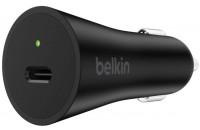Кабели и зарядные уст-ва Belkin BoostCharge USB-C with Power Delivery 27W 3A Black (F7U071BTBLK)