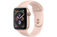 Смарт-часы Apple Watch Series 4 GPS 44mm Gold Aluminum Case with Pink Sand Sport Band (MU6F2)