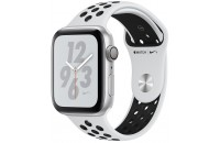 Apple Watch Series 4 Nike+ GPS 44mm Silver Aluminum Case with Pure Platinum/Black Nike Sport (MU6K2)