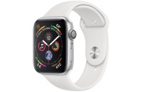 Смарт-часы Apple Watch Series 4 GPS 44mm Silver Aluminum Case with White Sport Band (MU6A2)
