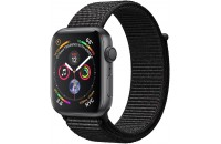 Apple Watch Series 4 GPS 40mm Space Gray Aluminum Case with Black Sport Loop (MU672)