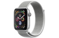 Смарт-часы Apple Watch Series 4 GPS 44mm Silver Aluminum Case with Seashell Sport Loop (MU6C2)