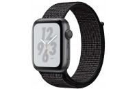 Смарт-часы Apple Watch Series 4 Nike+ GPS 44mm Space Gray Aluminum Case with Black Nike Sport Loop (MU7J2)