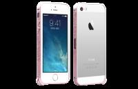 Аксессуары для мобильных телефонов iBacks iPhone 5/5S/SE Cameo Bumper Venezia Series Pink (IP50214)