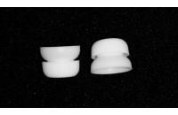 Аксессуары для наушников Амбушюры Sennheiser IE/CX Silicone Lamella Eartips (528174) 1пара) M white