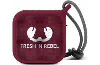 Fresh N Rebel Rockbox Pebble Small Bluetooth Speaker Ruby