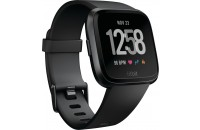 Смарт-часы Fitbit Versa Fitness Watch Small/Large Black/Black Aluminum (FB504GMBK)