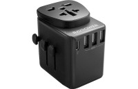 Кабели и зарядные уст-ва RavPower Diplomat PD 30W 4-Port Travel Charger Black (RP-PC099)