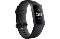 Фитнес -трекеры Fitbit Charge 3 Fitness Activity Tracker Small/Large Black/Graphite Aluminum (FB409GMBK)