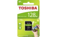 Карты памяти и кардридеры Toshiba SD-Card 128GB High Speed N203 UHS-I U1 (THN-N203R1280E4)