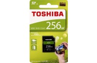 Карты памяти и кардридеры Toshiba SD-Card 256GB High Speed N203 UHS-I U1 (THN-N203N2560E4)