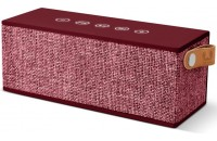 Fresh N Rebel Rockbox Brick Fabriq Edition Bluetooth Speaker Ruby