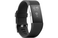 Фитнес -трекеры Fitbit Charge 2 Fitness Activity Tracker Large Black (FB407SBKL)