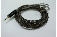Аксессуары для наушников Era Cable OCC Coffee Balanced 2.5mm (Westone/Shure) 1.2m (AK012)